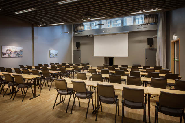 meeting room havna at scandic solsiden in trondheim norway