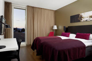 Scandic Oslo Airport, Twin room, Rom 446