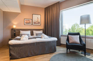 superior king bed room in scandic vaasa finland
