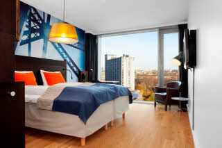Scandic Vulkan, room
