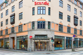Scandic Byparken, Bergen, entrance