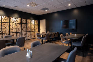 chambre separee of restaurant at Scandic Harstad in norway
