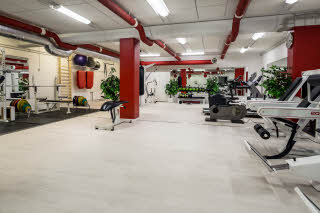 Gym of Scandic Helsinki Airport