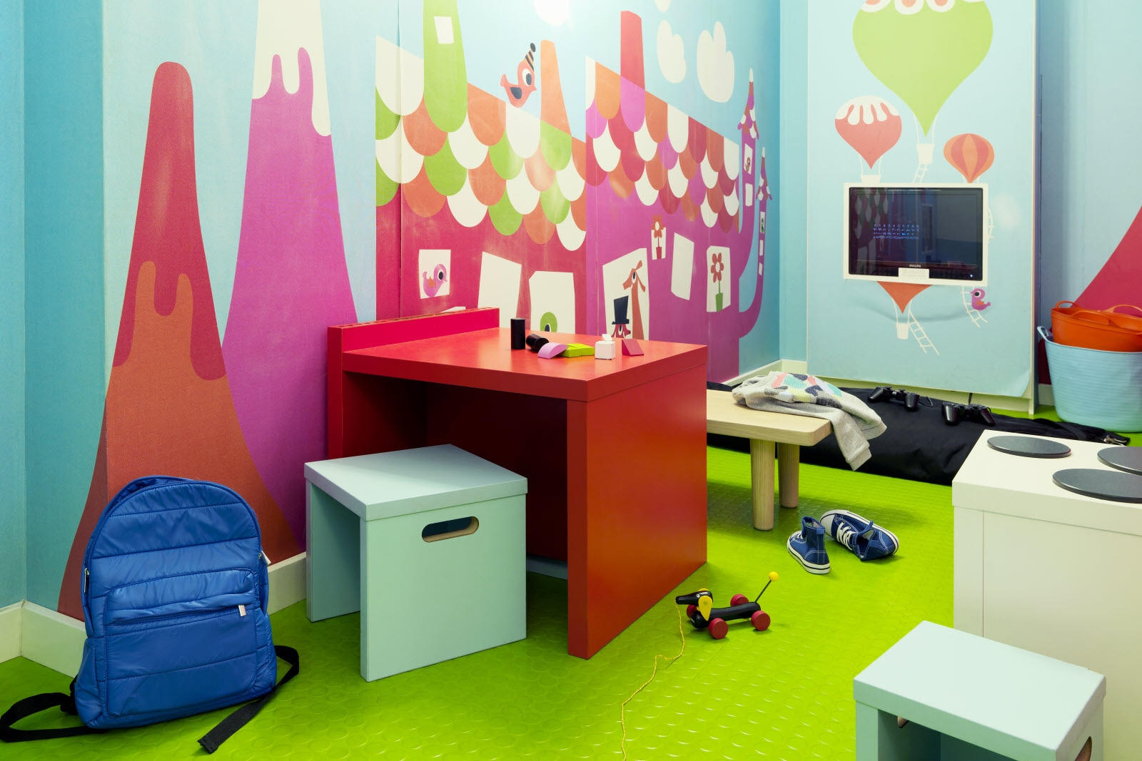 Scandic Copenhagen, Playroom