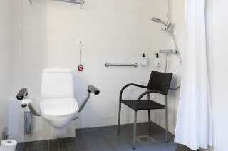 Bathroom, Accesibility room, Interior