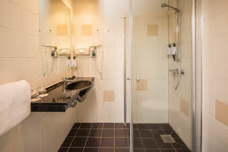 Bathroom, superior room - Scandic Kolding