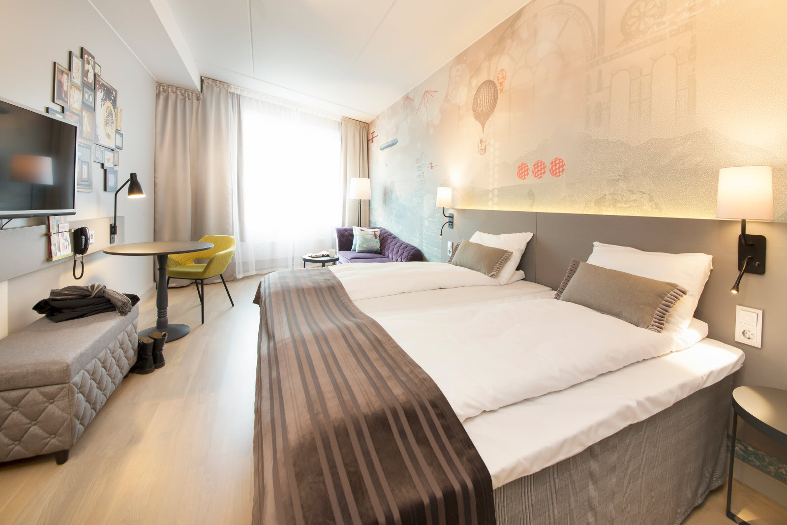 Scandic Byporten, superior room