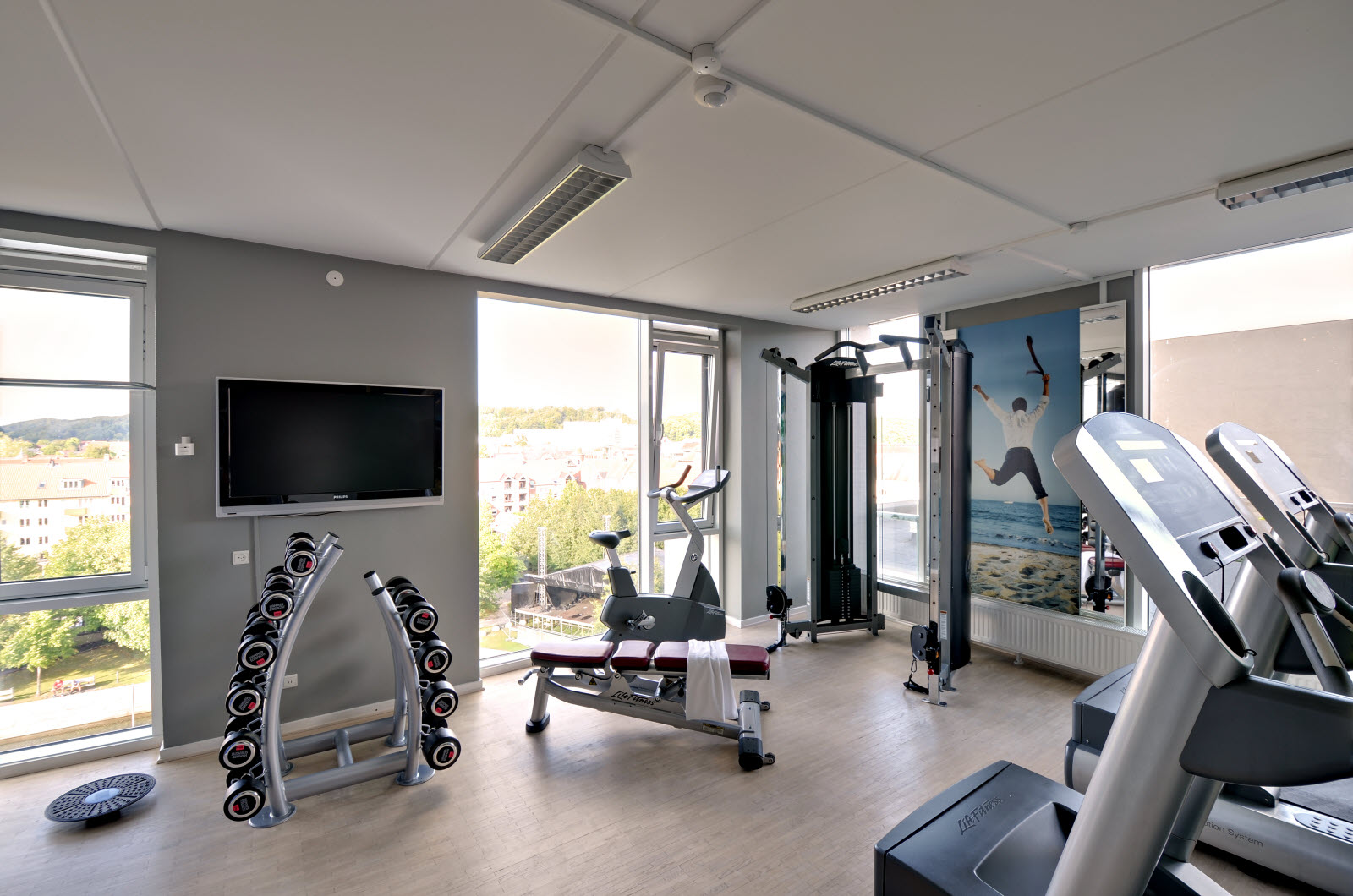Scandic Jacob Gade, gym, fitness