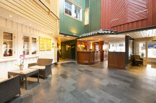 Scandic Grimstad, Grimstad, lobby, reception, front desk