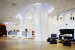 Lobby of  Scandic Copenhagen