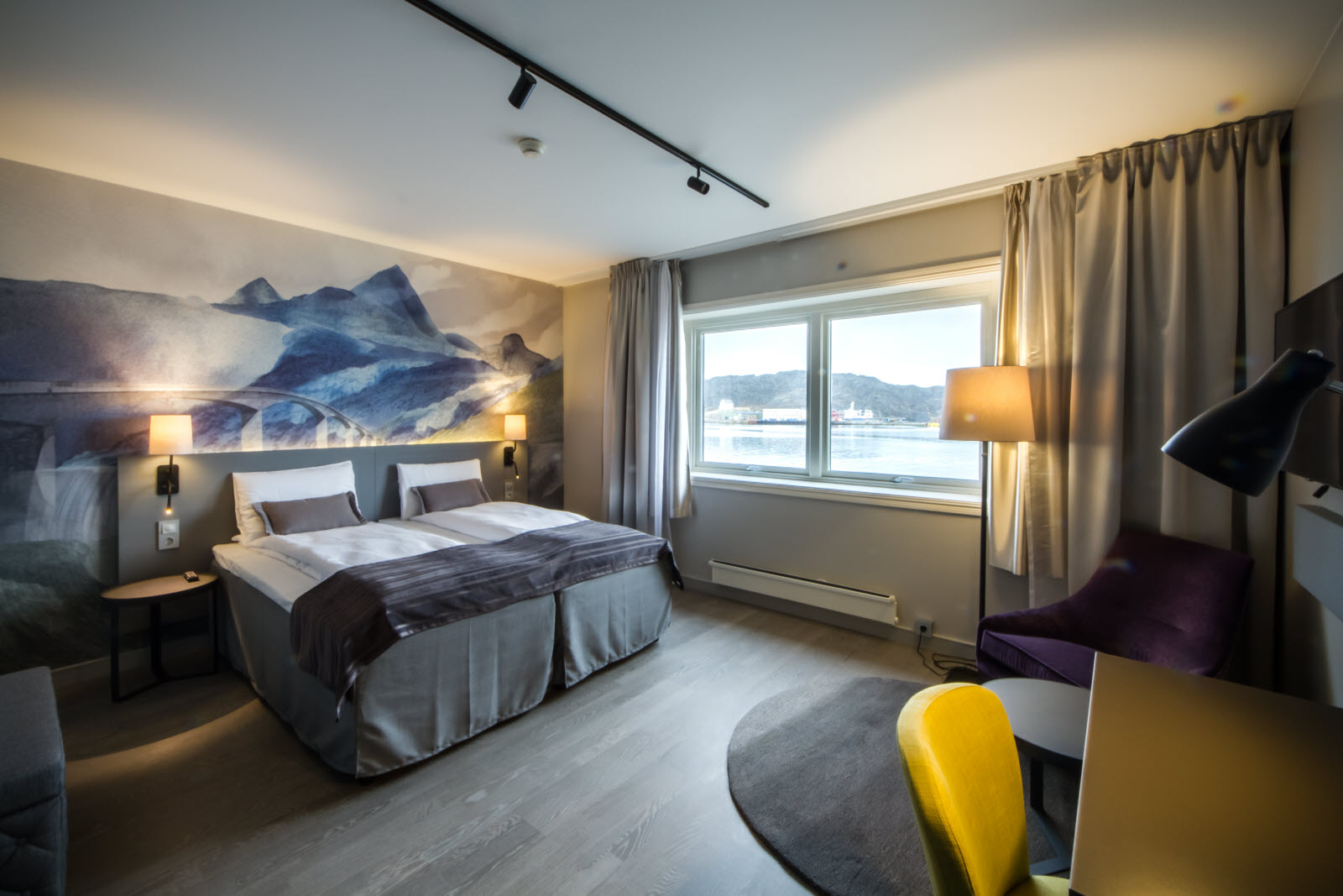 Superior extra room with sea view.