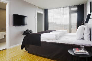 Scandic Aarhus City, suite, bed