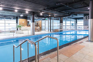 indoor swimming pool at scandic rosendahl in tampere finland