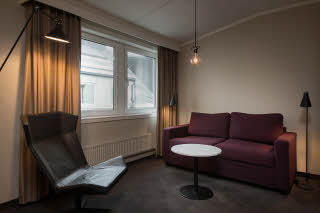 room junior suite at scandic oslo city in norway