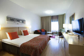 superior room at scandic oulu city in finland