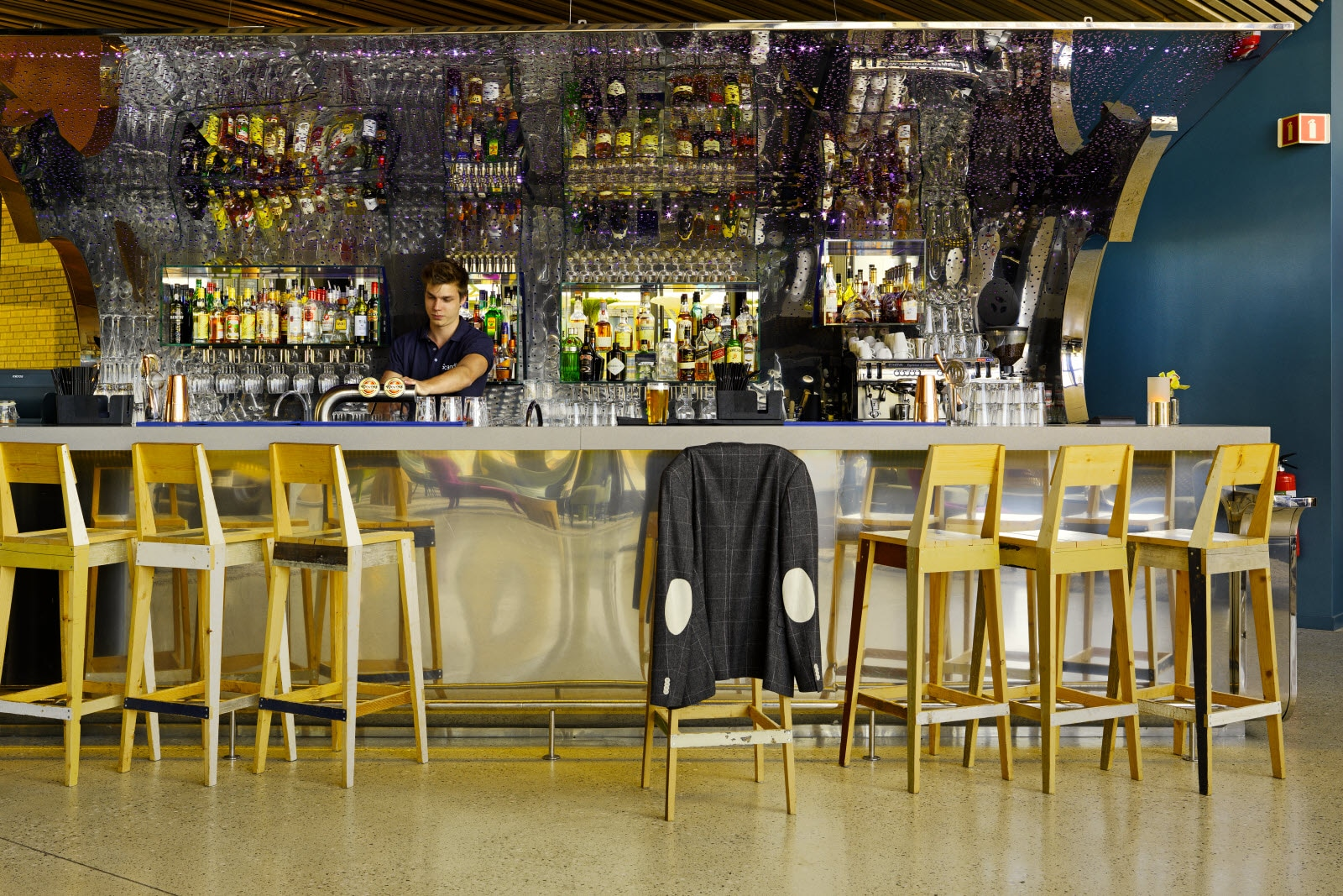 Restaurant und Bar im Scandic Fornebu in Oslo