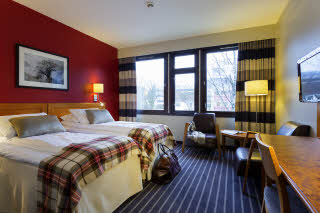 Scandic Sunnfjord Hotel & Spa, Forde, superior room, twin beds