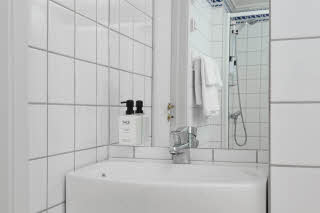 Scandic Vadso, Vadso, superior room, bathroom