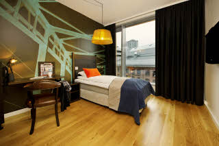 Scandic Vulkan, room, single