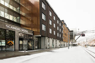 facade of scandic voss in norway