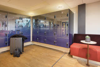 Lockers for luggage