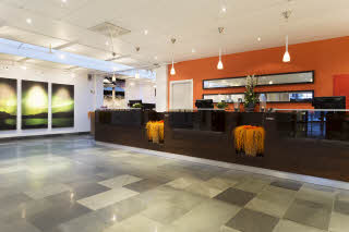 front desk, reception