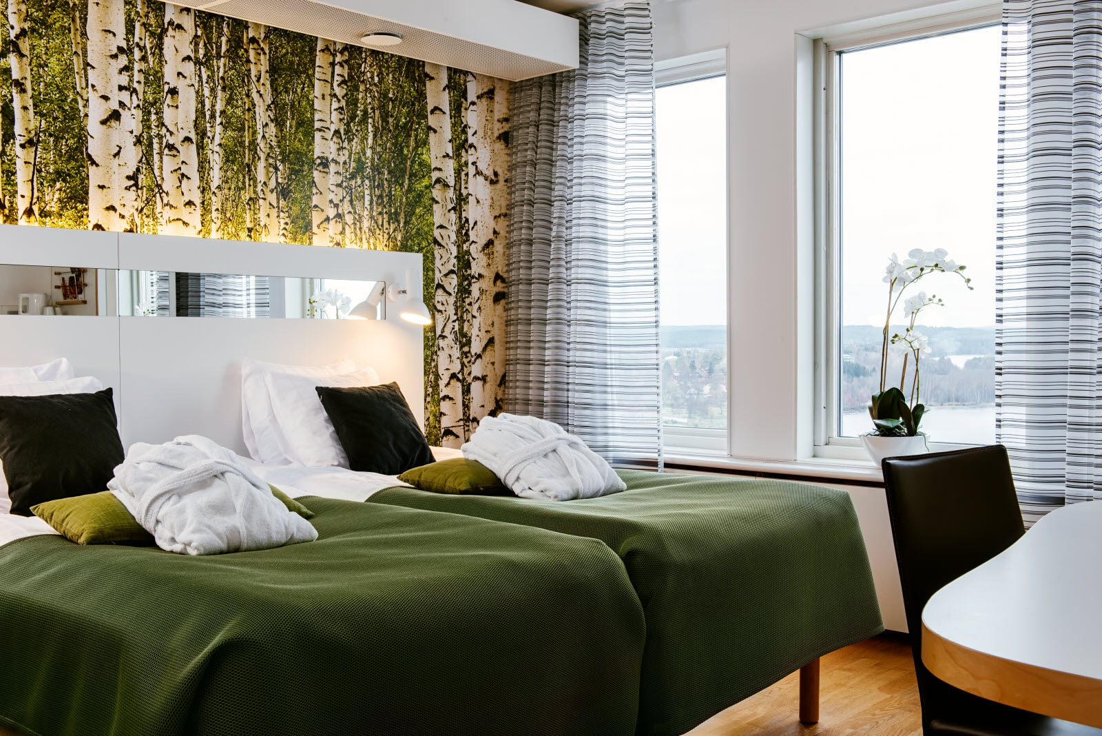 Scandic Plaza Umea, suite, floor 14, bedroom