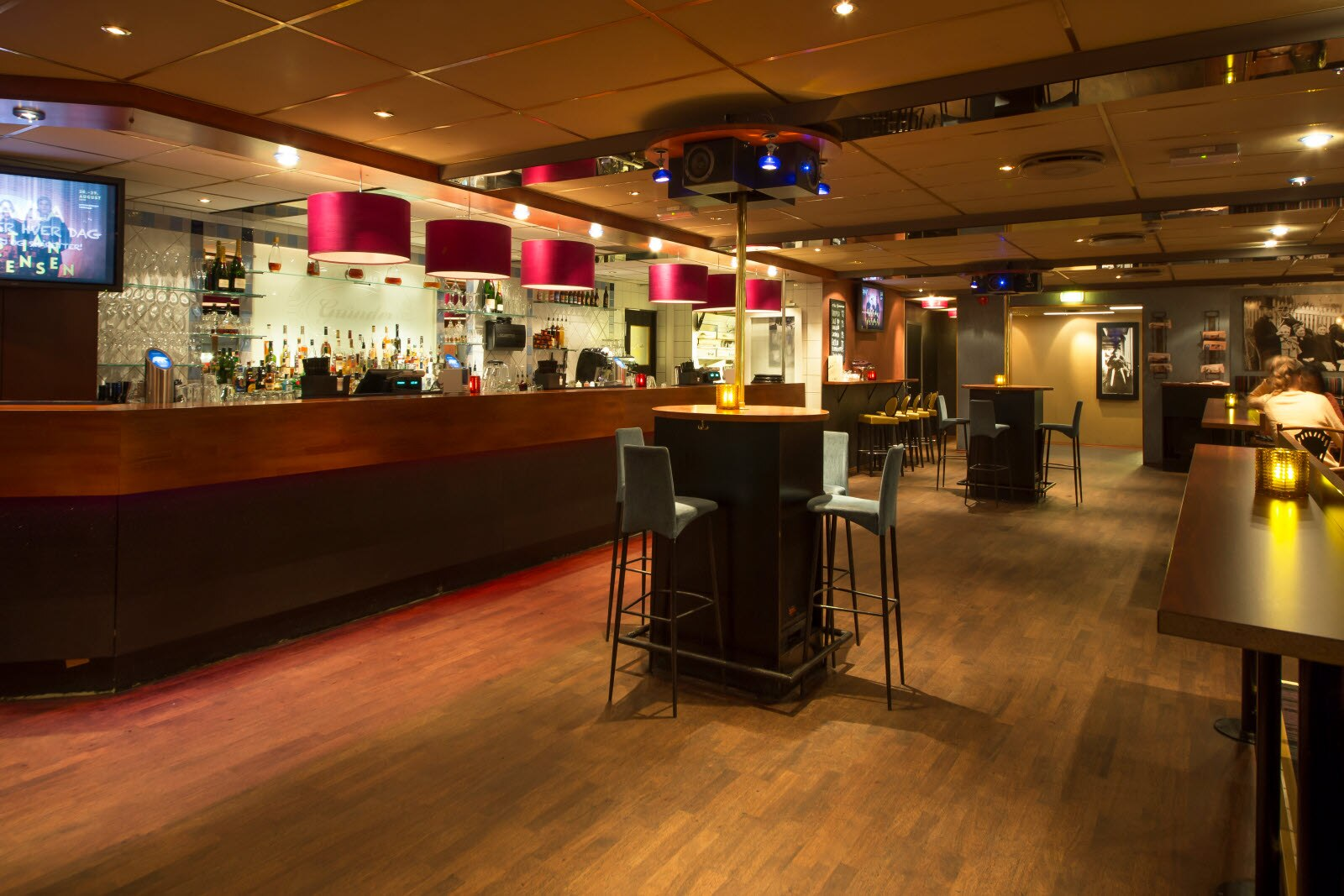 Scandic Grand Tromso, Tromso, Grunder, bar, cafe