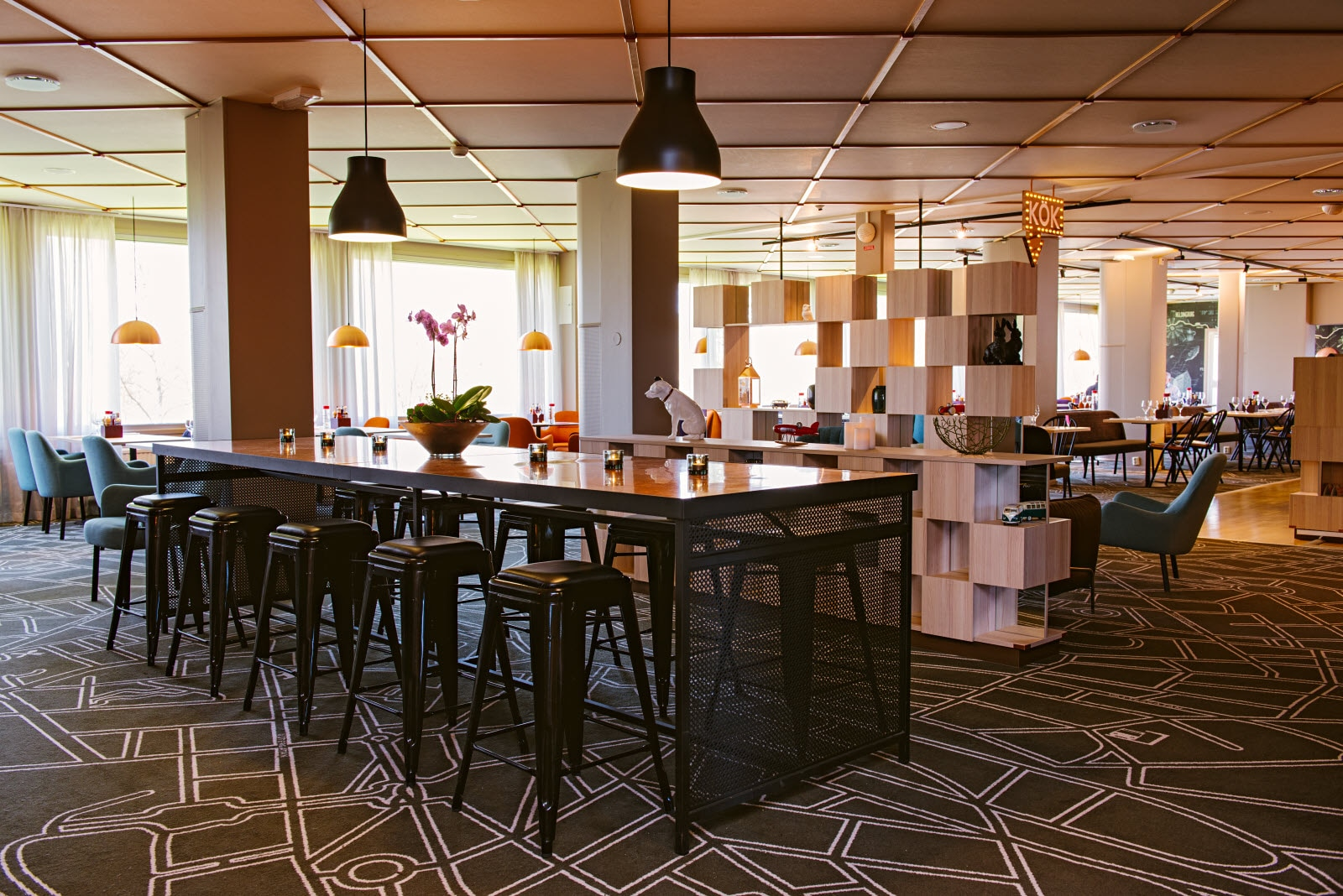 Scandic Vaxjo, restaurant, lounge