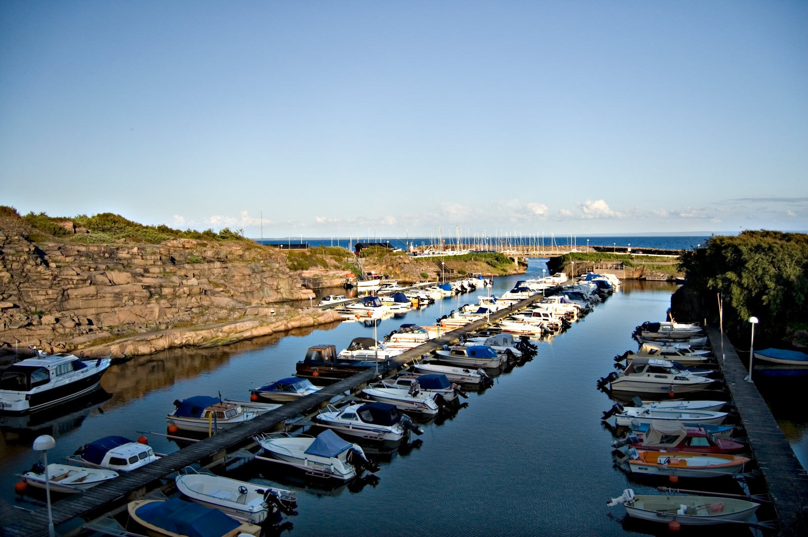 Harbor in Halmstad