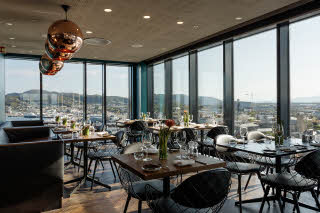 Scandic Havet, Bodo, Roast restaurant, overview