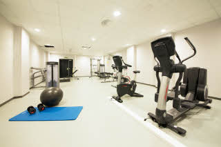 Scandic Lerkendal, gym, facilities, training