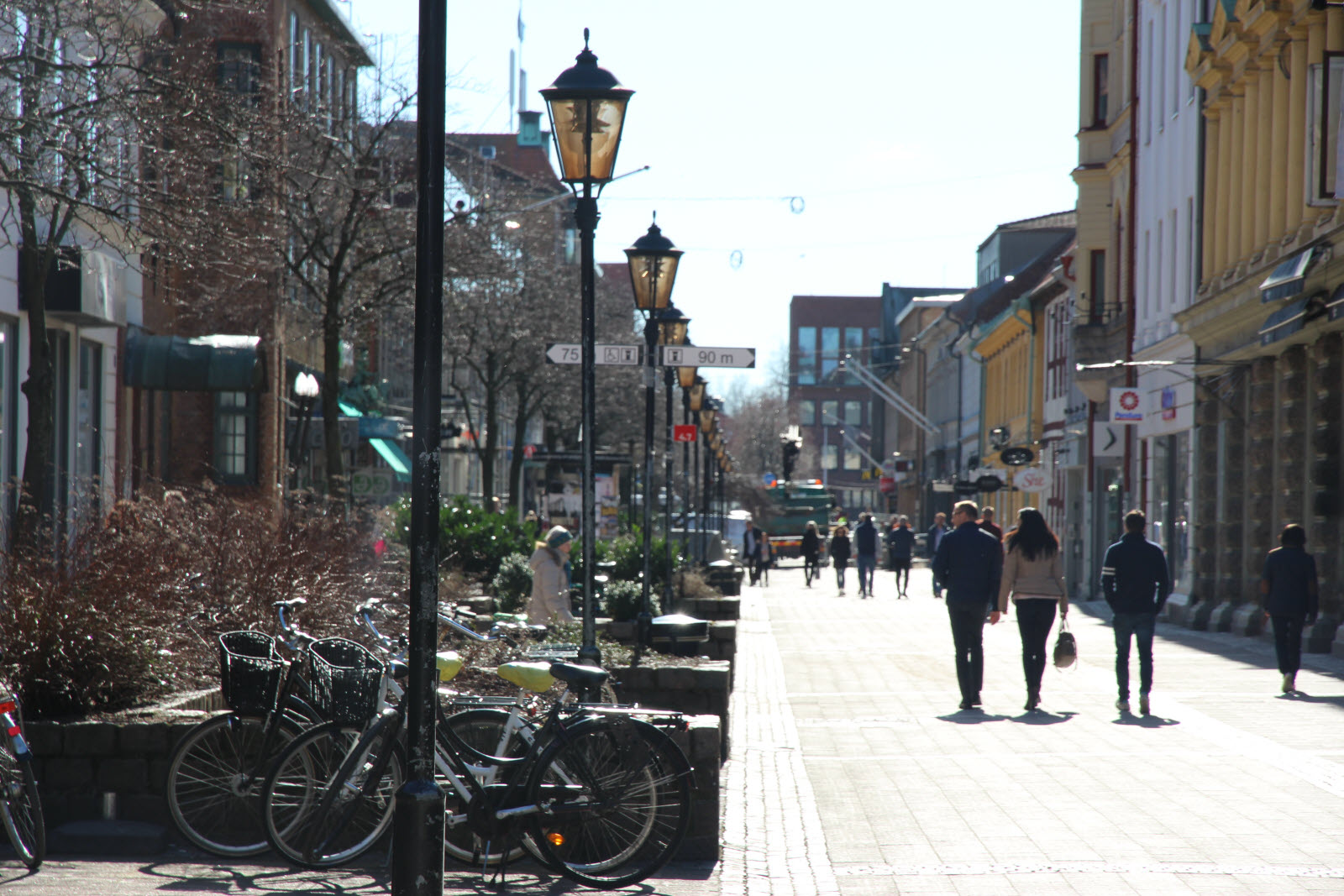 Halmstad city center