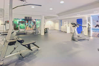 Sonderborg, gym, fitness area