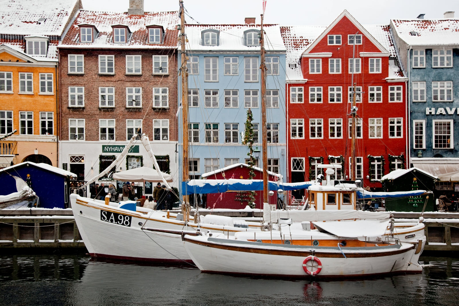 Winter in Nyhavn, Copenhagen