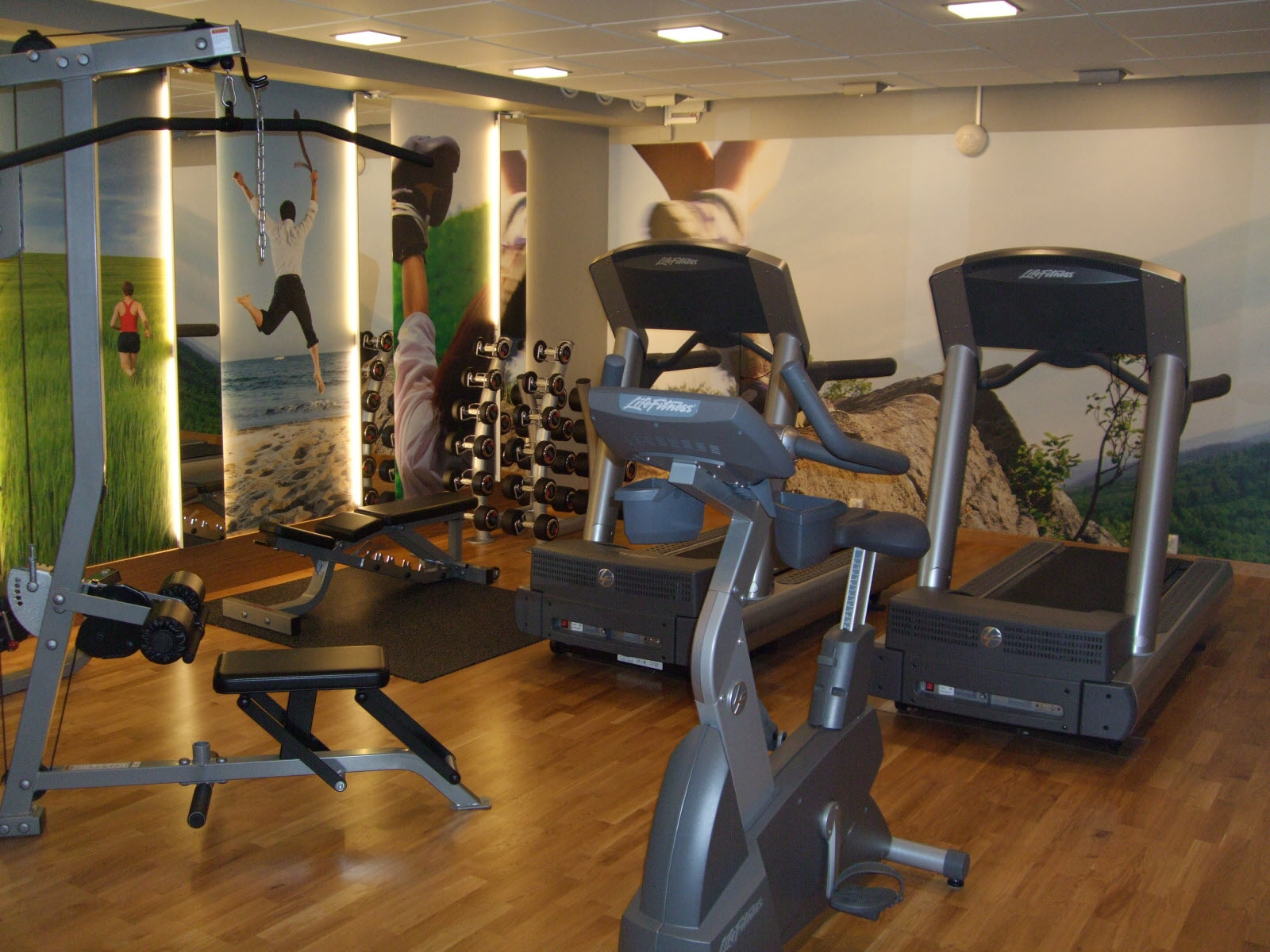 Scandic Segevång, gym