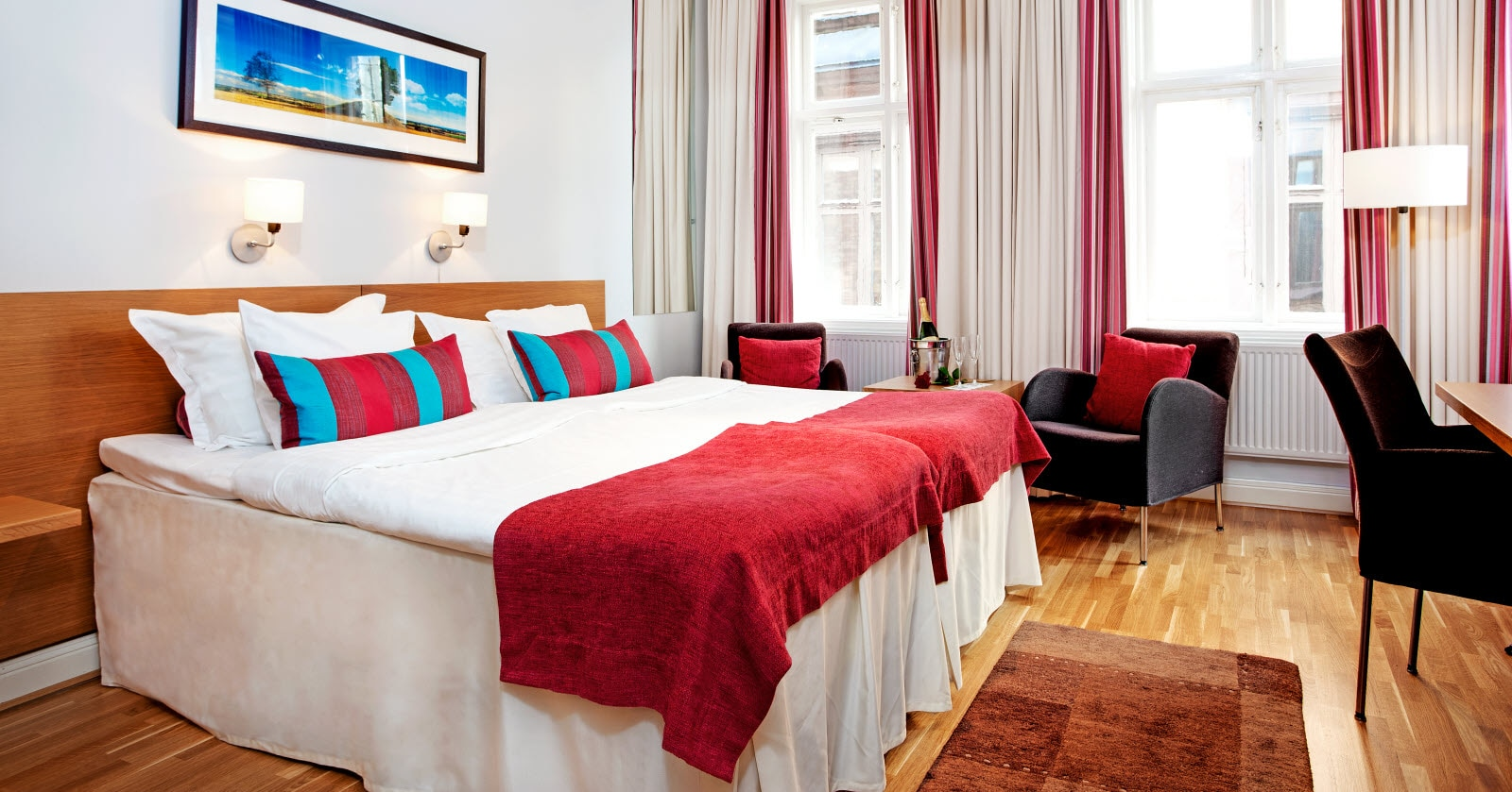 Scandic Stortorget, room, superior