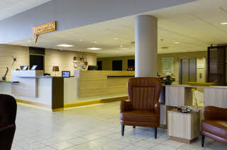 Reception, Front Desk, Lobby