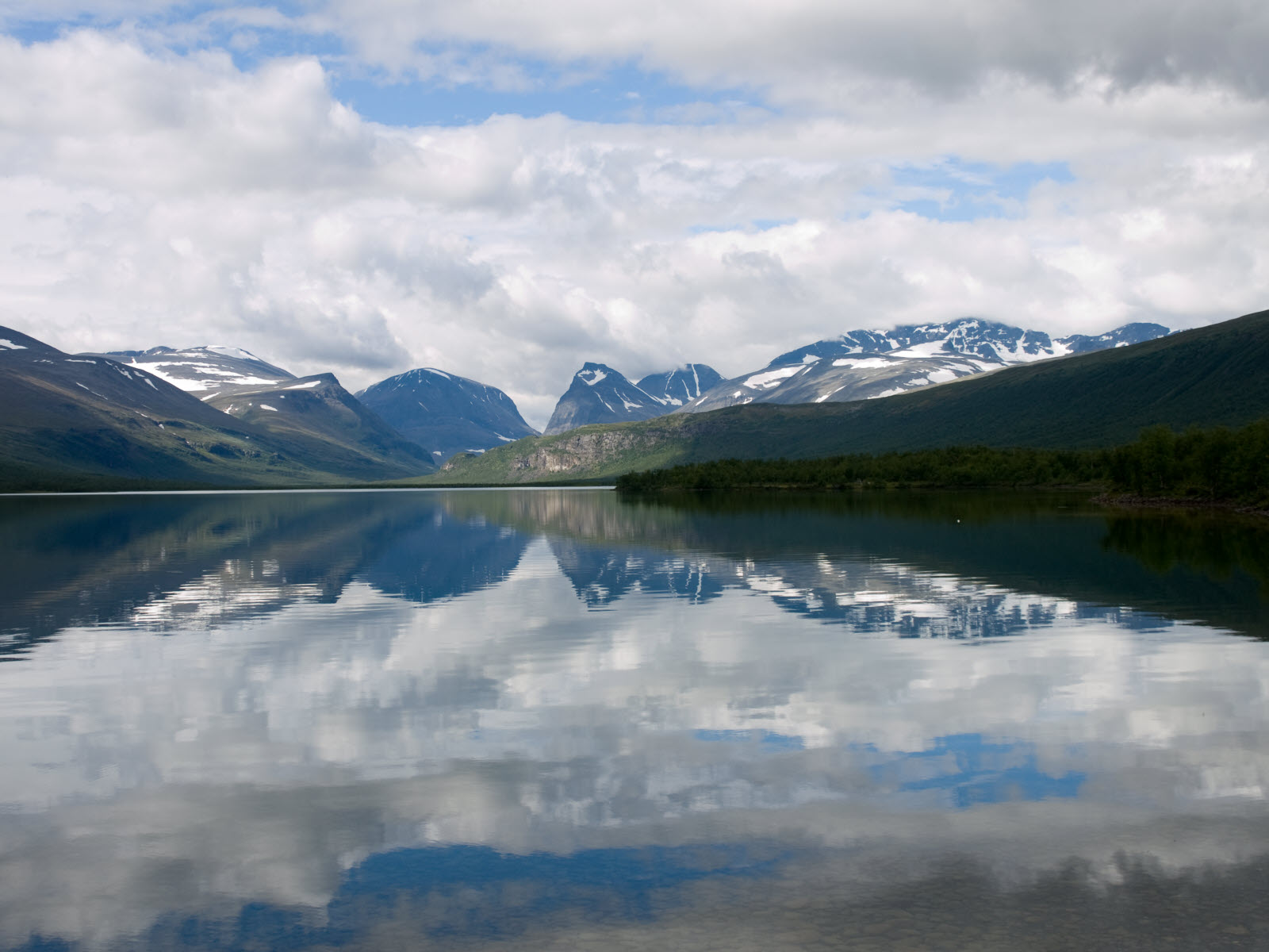 Lake in Lappland