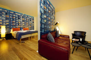 Scandic Vulkan, room, junior suite, family room