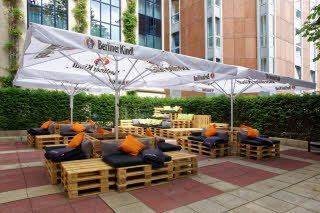 Scandic Berlin Kufurstendamm, terrace