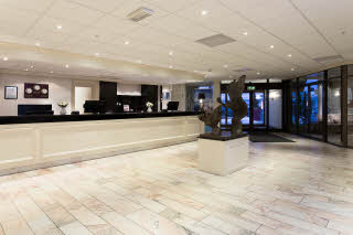 Scandic Ringsaker, Hamar, front desk, reception