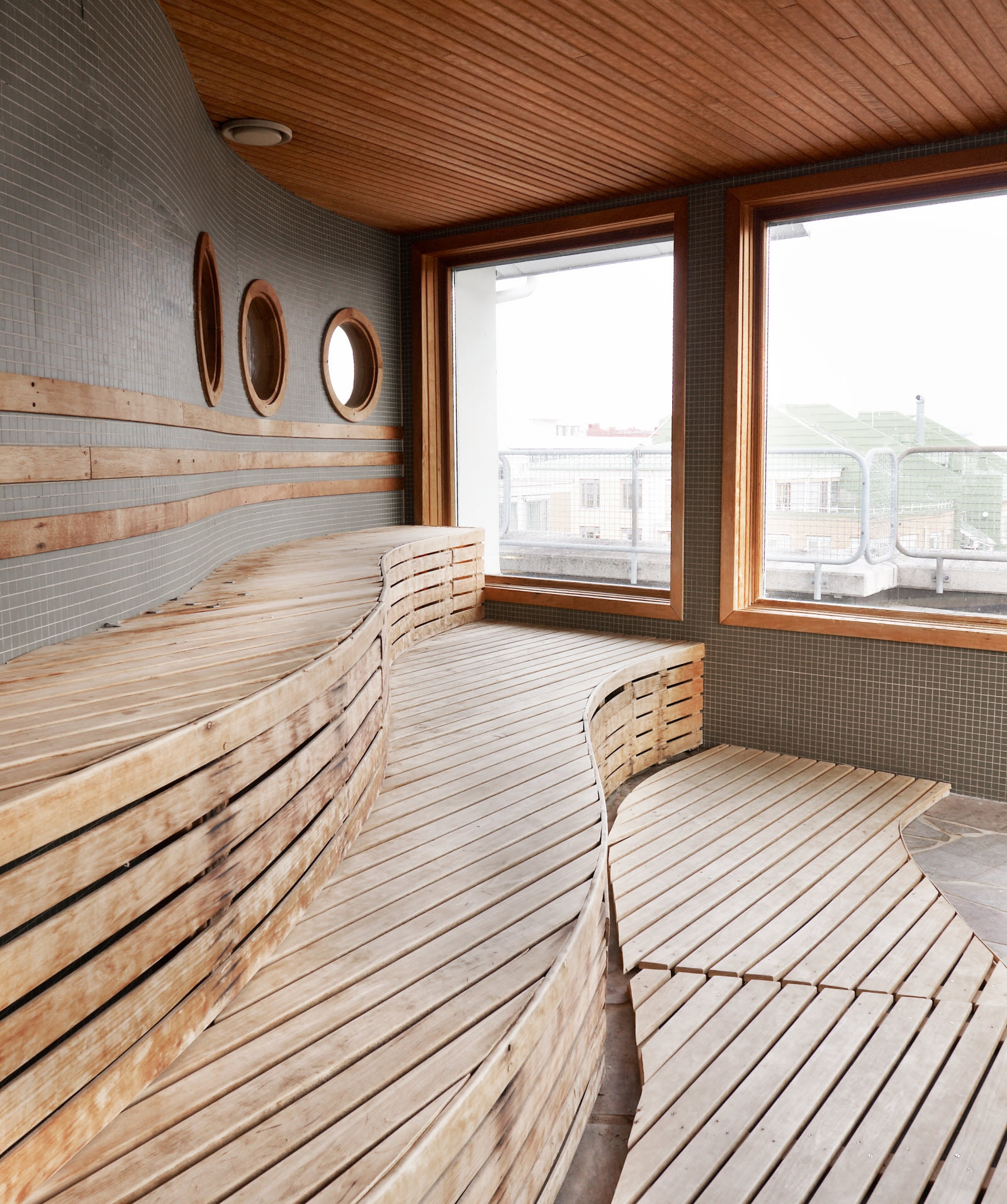 Scandic Crown, sauna