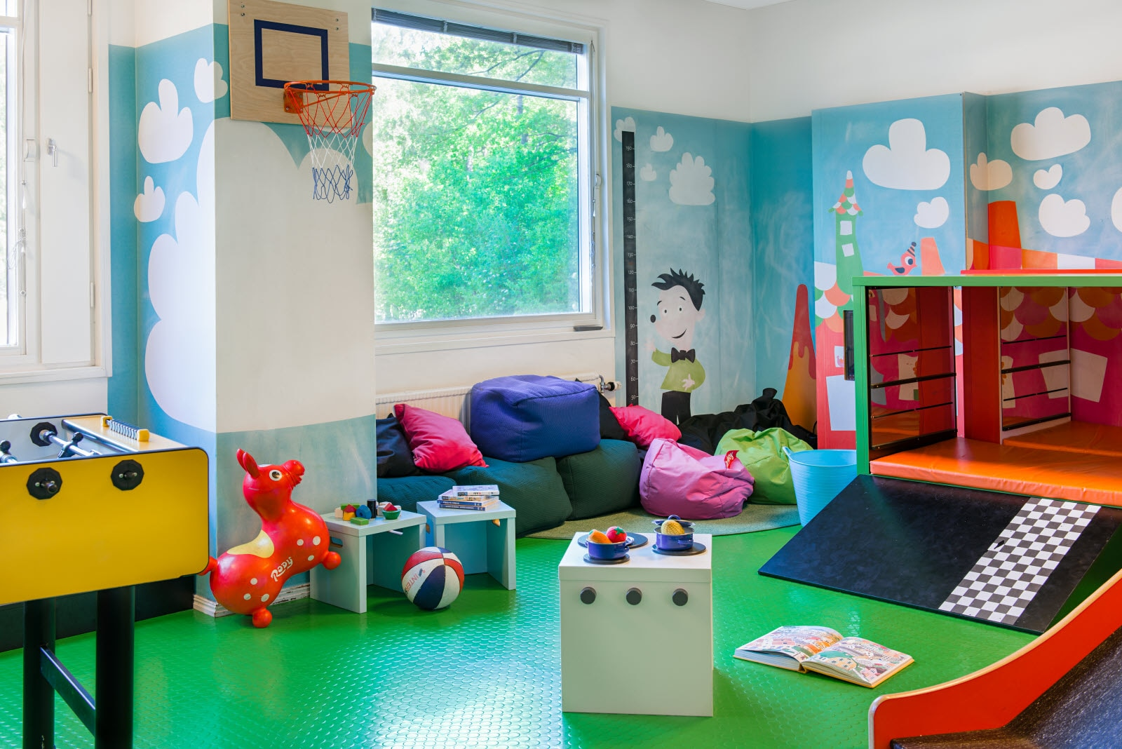 Scandic Kungens Kurva, kids room, play room