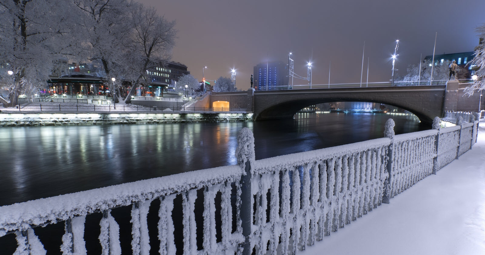 Tampere in winter