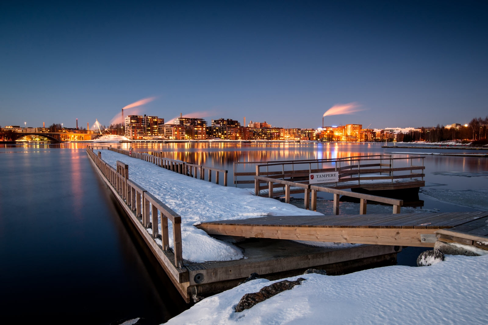 Tampere in winter. Copyright Visit Finland